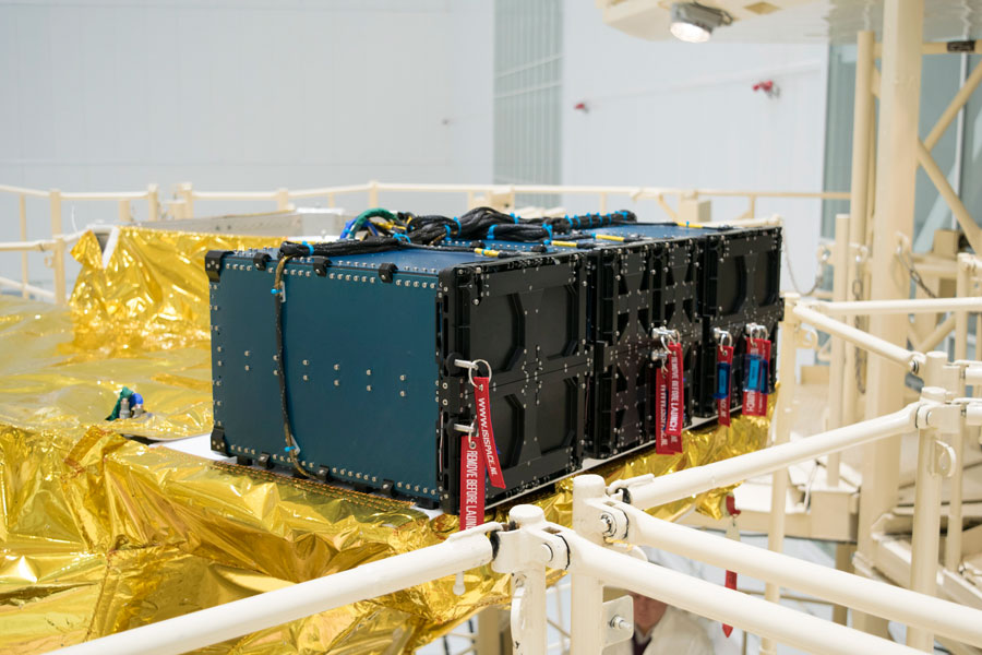 ISISPACE QuadPack cubesat deployers